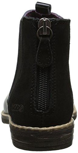 Mod8 Nana, Bottes Classiques Fille Noir (Noir Brillant)