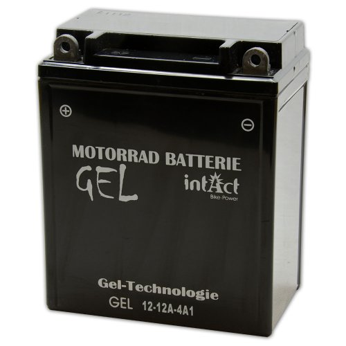 Motorrad Batterie Gel 12 V 12 AH - 51211 - 12N-12A-4A-1 - YB12A-A - CB12A-A - 512011012 - GEL-Technologie