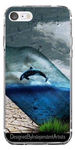 TPU Transparent SilikonHülle für Iphone 7 / Iphone 8 - Fantasie Wal by WonderfulDreamPicture