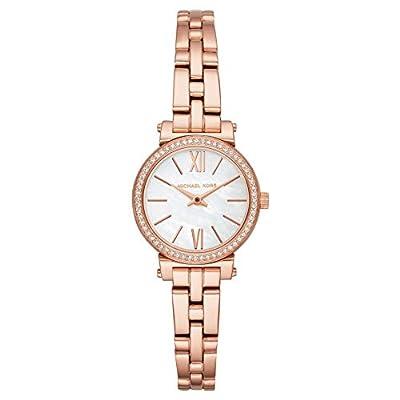Michael Kors Reloj Analogico para Mujer de Cuarzo con Correa en Acero Inoxidable MK3834