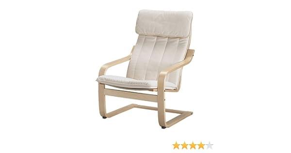 Sedia A Dondolo Per Bambini Ikea : Ikea poang poltrona con cuscino fodera e struttura: amazon.it
