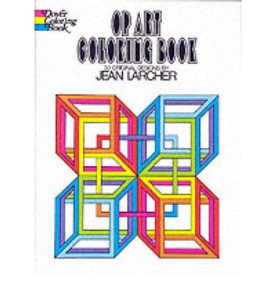 Op Art (Dover Design Coloring Books) (Paperback) - Common