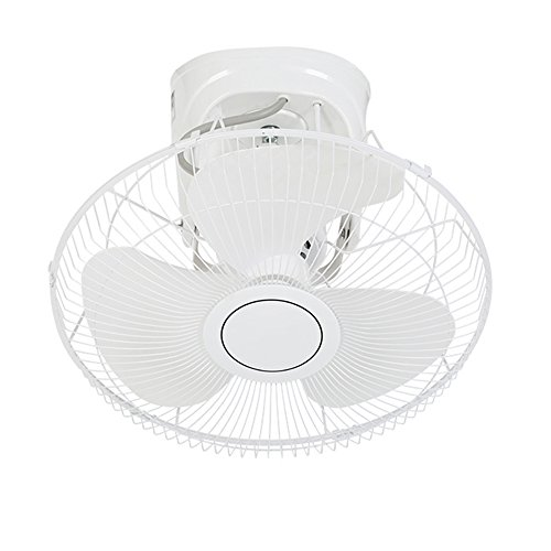 LiuJianQin Electric fan ZXQZ Elektrischer Ventilator-Haushalts-Deckenventilator Industrieller an der Wand befestigter Ventilator-stufenlose Geschwindigkeits-Regelung 360-Grad-drehender Ventilator Fan