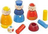 HABA 302972 Steckspiel Im Einsatz, Kleinkindspielzeug
