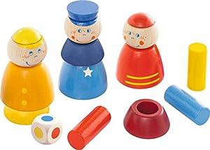 HABA 302972 Juguete de construcción - Juguetes de construcción (Stacking Blocks, Multicolor, 1.5 yr(s), 12 pc(s), Boy/Girl, Children)