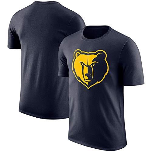 Hyzb Kurzärmliges Memphis Grizzlies Basketball Training Sportswear Tops T-Shirt Herrenbekleidung (Farbe : Schwarz, größe : XL)