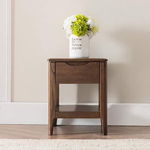 Leqi stand di fiori yst in legno massello con base in legno per pavimenti in bonsai con struttura in legno con base a fiori, combinazione di soggiorno con pavimento a pavimento (size : a-460mm)