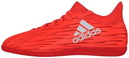 adidas Unisex-Kinder X 16.3 in Fußballschuhe, Rot (Solar Red/Silver Metallic/Hi-Res Red), 34 EU