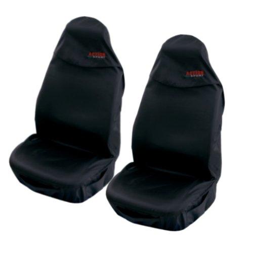 Preisvergleich Produktbild 2 Stück (Action Sports) Sitzschoner / Werkstattschoner / Sitzbezüge NYLON