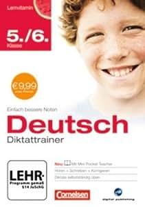 Lernvitamin - Diktattrainer 5./6. Klasse