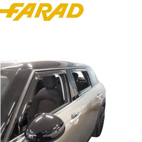 17013 Kit Déflecteurs d'air Coupe-Vent Avant arrière KIA SPORTAGE 4 x 4 5P 16 > spécifiques Déflecteurs Anti Pluie Vent Farad