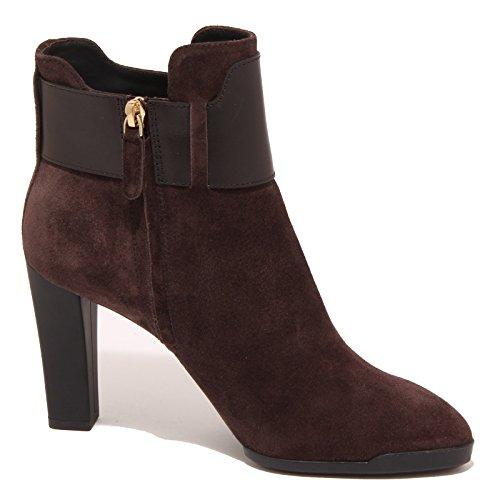 3263P stivaletto TOD'S WY TRONCHETTO FIBBIA stivaletto donna boot woman testa di moro