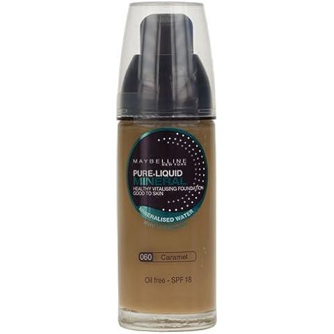 Maybelline Pure Liquid Mineral Foundation- Oil Free SPF 18 (Maybelline Mineral Foundation)