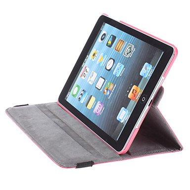 Ace Qualität Apple neues iPad Apple iPad 2 Air / Ipad 6 (2014-15) 360-Grad-Drehung Rosa horizontal & vertikal anzeigen Leder-Abdeckung für Apple neues iPad Apple iPad 2 Air / Ipad 6 (2014-15) von G4GADGET®