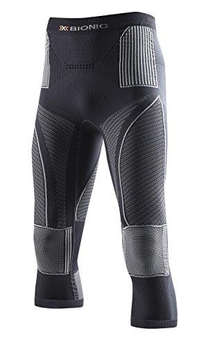 Kleid Hose Charcoal (X-Bionic Erwachsene Funktionsbekleidung Man Acc Evo UW Pants Medium, Charcoal/Pearl Grey, L/XL, I020241)