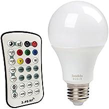 Sendida LED RGB Cambia Colore RF telecomando lampade speciali E27 - 12 W Lampadine colorate Leggero