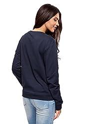oodji Ultra Women's Basic Cotton Sweatshirt by RIFICZECH s.r.o.