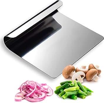 Gemüseschaufel Pizzaschaufel Edelstahl Pizzaheber Kochschaufel Teigschaber Küche