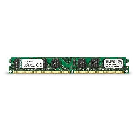 Kingston - Mémoire (sans tampon) 2 Go - 667 MHz (PC2-5300) , DIMM 240 broches DDR II