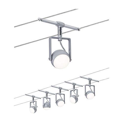 3983 Wire System OrbLED 5x4W Weiß/Chrom matt 230/12V Seilleuchte Seillampe Deckenleuchte Deckenbeleuchtung LED
