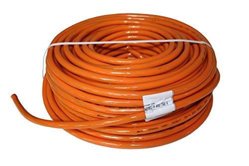 PUR-Leitung H07BQ-F 5x1,5 bis 5x2,5 (5G1,5-5G2,5) Baustellenkabel, Industriekabel geeignet für den Außenbereich 5-50m (5G2,5; 50m)