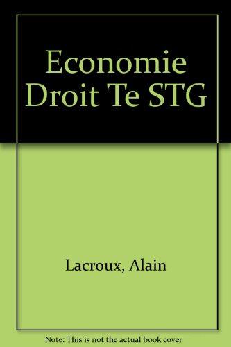 Economie Droit Te STG