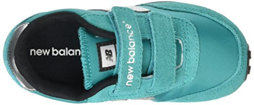 New Balance Mädchen, Funktionsschuh, Ke410 Kids Lifestyle Velcro blau (Teal/Grey)