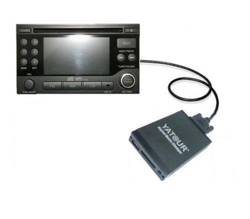 Adapter-Universe 5900 Interface Nissan Infiniti 350Z Almera USB/SD Karte DMC Adapter schwarz