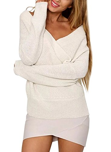 Futurino - Pull - Décontracté - Femme Blanc