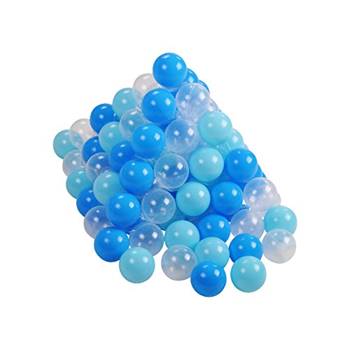 Knorrtoys 56773 Bälleset Ø6 cm - 300 balls/soft blue/white Spielball