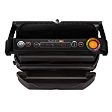 Tefal GC 7128 Contact Grill Tabletop Electric 2000 W Black (2000 W, Contact Grill, Electric, 600 cm², Table, Black)