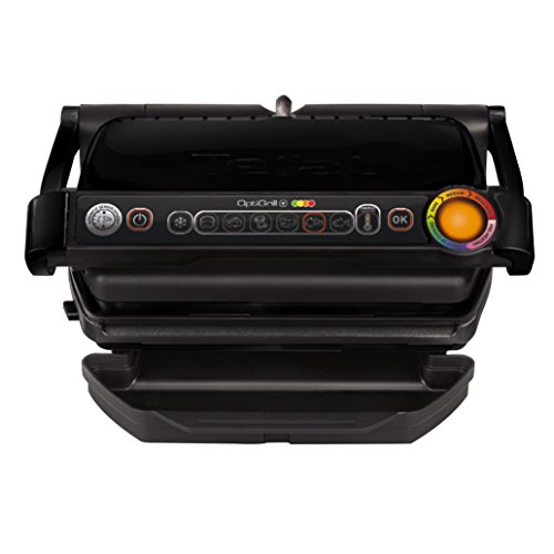 Tefal Optigrill+ - Parrilla eléctrica, color negro