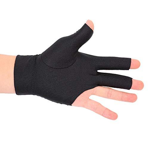 Keenso 3 Fingers Show Billard Handschuhe, Snooker