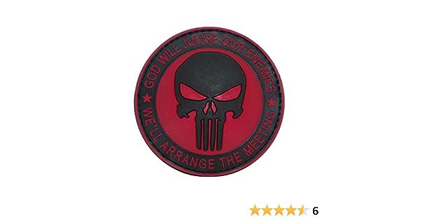 Cobra Tactical Solutions God Will Judge Our Enemies 3d Military Pvc Patch Punisher Totenkopf Devgru Navy Seals Für Airsoft Paintball Cosplay Für Taktische Kleidung Rucksack Alle Produkte