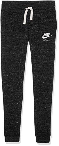 Nike G NSW VNTG Lange Hose, Mädchen M Black (Schwarz/Segel)