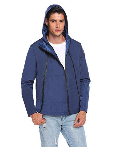 cooshional Regenjacken Test Herren Regenbekleidung Wasserdicht Atmungsaktiv