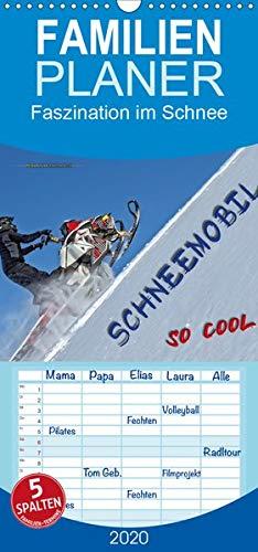 Schneemobil - so cool - Familienplaner hoch (Wandkalender 2020 , 21 cm x 45 cm, hoch): Schneemobil fahren - unbeschreibliches Fahrgefühl mit viel ... (Monatskalender, 14 Seiten ) (CALVENDO Sport)