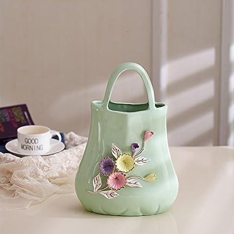 Maivas Décoration Vase en céramique moderne simple Maison, cadeaux,