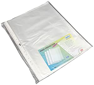 Solo SP 113 Sheet Protector A3 - Transparent Clear, Pack of 50
