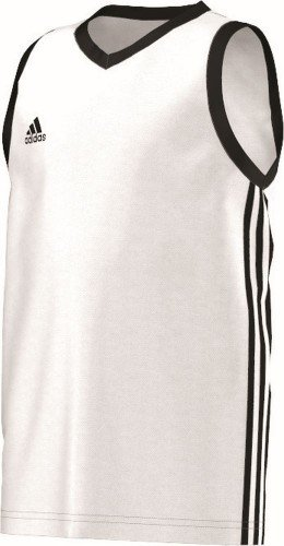 adidas Basketball Teamsport Kinder commander Kinder Wht/black , Größe - Basketball Kostüm Für Jungen