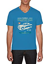 Touchlines Herren T-Shirts Classic Car Mercedes W123 Youngtimer