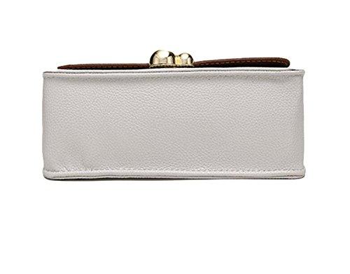 Diagonal-Paket Handtaschen Damenmode Wilde Schultertasche Kette Tasche Handtasche Black
