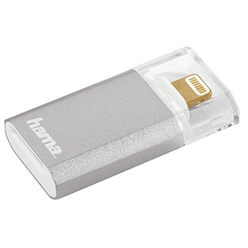 Hama Lightning Kartenleser Save2Data Mini microSD 7g Silber Fuer Apple