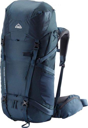 Wanderer Erweiterbar Rucksack (McKINLEY Yukon 55+10 Liter Touringrucksack (Farbe: Navy Dark))