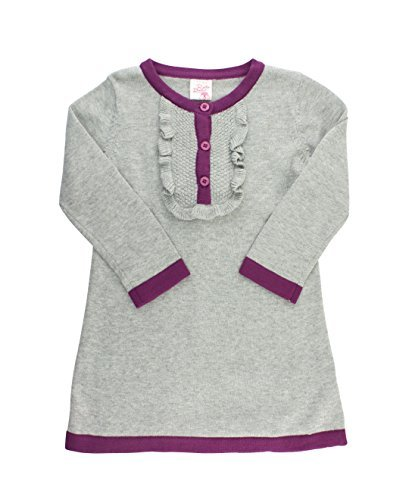 45ec33187 22% OFF on RuffleButts Infant   Toddler Girls Gray Sweater Dress w ...