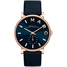 Marc Jacobs MBM1329 - Reloj con correa de cuero, para mujer, color azul
