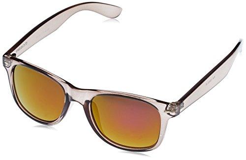 OCEAN SUNGLASSES - Beach wayfarer - lunettes de soleil polarisÃBlackrolles  - Monture : Noir Transparent - Verres : Revo Violet (18202.39)