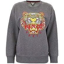Kenzo - Sweat-Shirt - Femme Gris Gris 5612407c19d