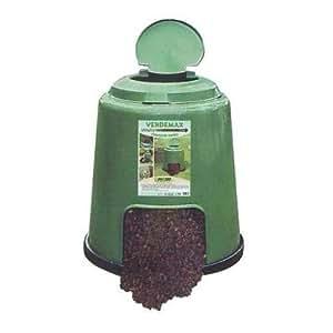 Verdemax 2890 280 l 80 x 80 cm quick compostiera colore for Compostiera da giardino