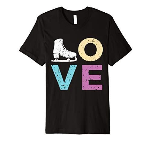 Eislaufen Shirt für Mädchen und Frauen Geschenk